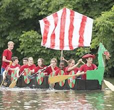 《纸船横渡》主题团建拓展课程