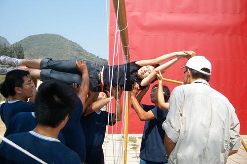 团队建设项目-穿越电网