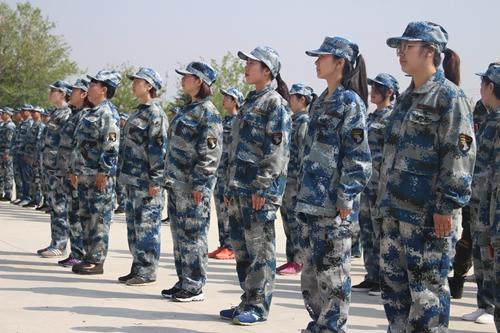 国肽集团军事拓展训练