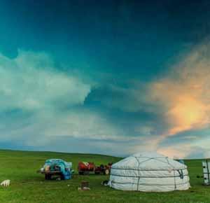 内蒙古河畔牧场